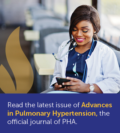 Advances in Pulmonary Hypertension: Official Journal of the Pulmonary Hypertension Association